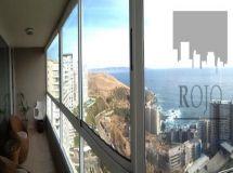 Costa Montemar, gran vista al mar, 4 dormitorios, terraza cerrada