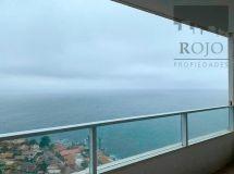 Costa Montemar, panorámica vista, amplio, 2 dormitorios, terraza, estacionamiento