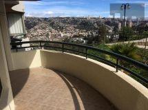 Viña, Miraflores, amplio departamento 3 dormitorios, estacionamiento
