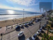 Reñaca, frente a playa, amplio, 150 mt2, 4 dormitorios, terraza