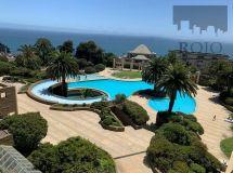 Costa de Montemar, gran vista, 3 dormitorios, piscina temperada