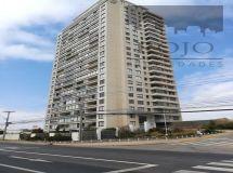 Concón, amplio departamento 2 dormitorios, terraza, estacionamiento